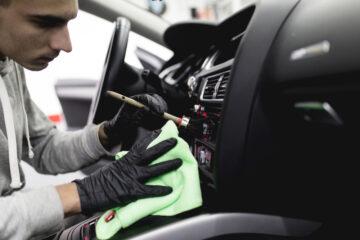 entretenir les textures intérieures de la voiture