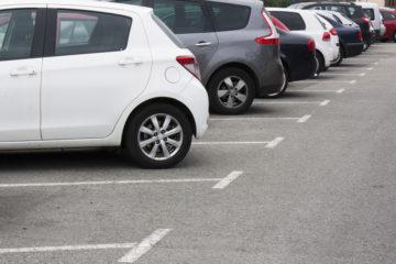 Le parking P4 de l'aéroport de Charleroi